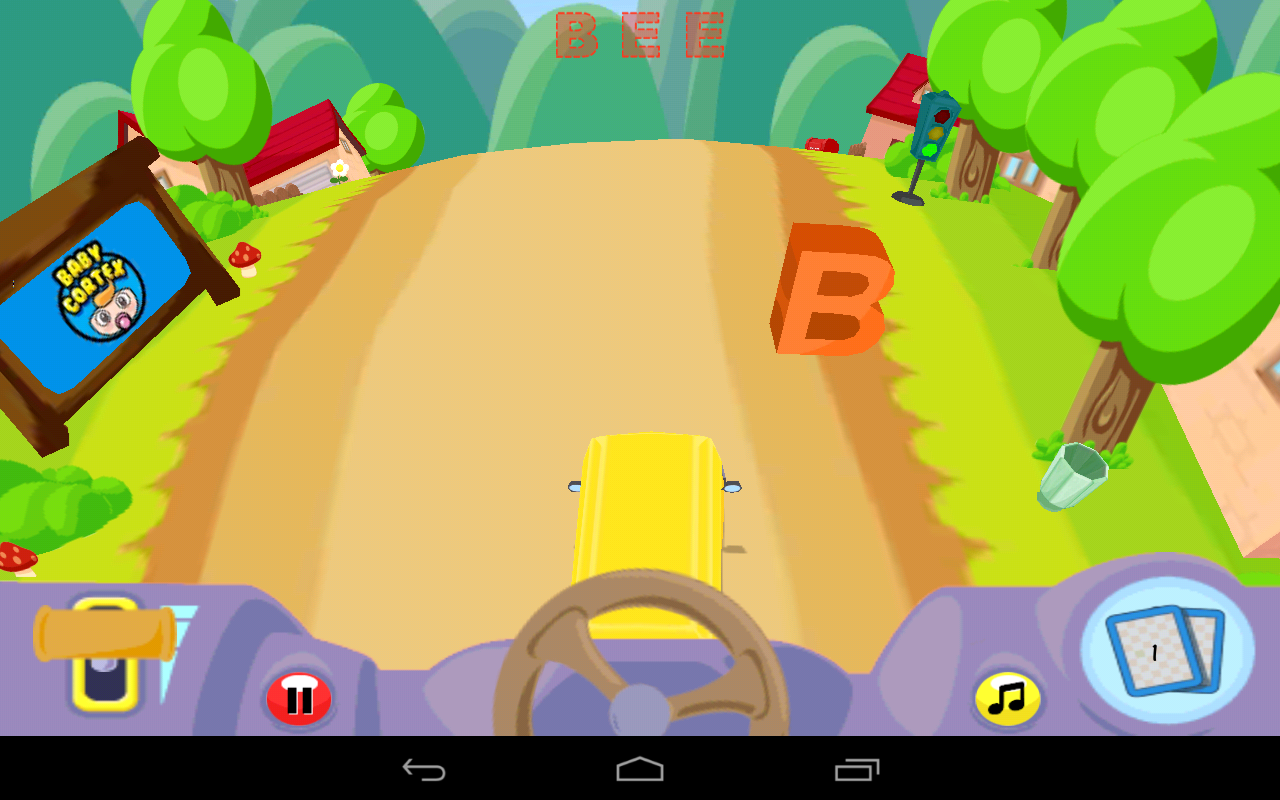 Alphabet Car: Learn ABC's Lite- screenshot