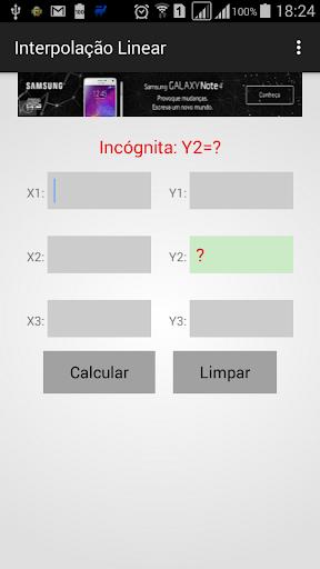 Interpolação Linear