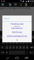 Screenshot of Pada Kannada