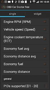 OBD Auto Arzt  | ELM327 OBD2 Screenshot