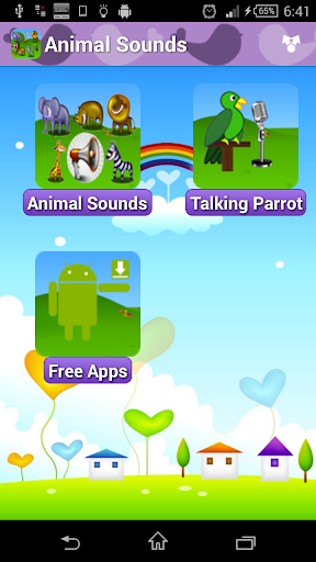 Animal Sounds Talking Parrot