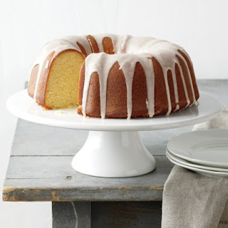 Tangerine Cake with Citrus Glaze.