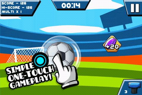 Tap it Up! Keepy Uppy Game- screenshot