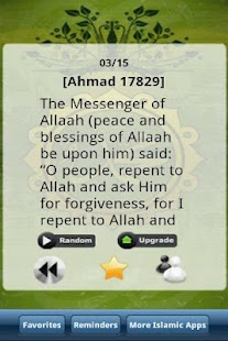 Hadith Every Day- screenshot thumbnail