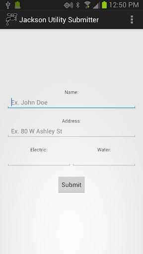 Jackson MN Utility Submitter