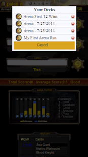 玩娛樂App|Arena Tier for HearthStone免費|APP試玩