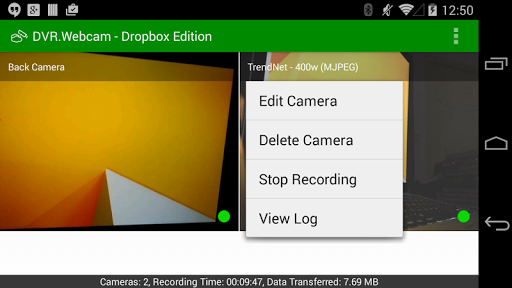 DVR.Webcam - Dropbox Edition