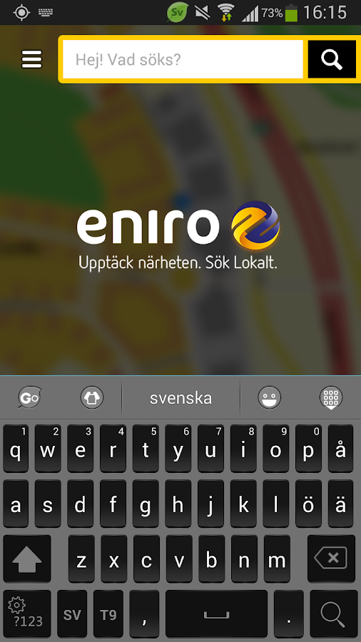 Eniro SE - screenshot