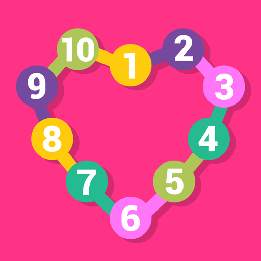 Connect the dots learn numbers LOGO-APP點子
