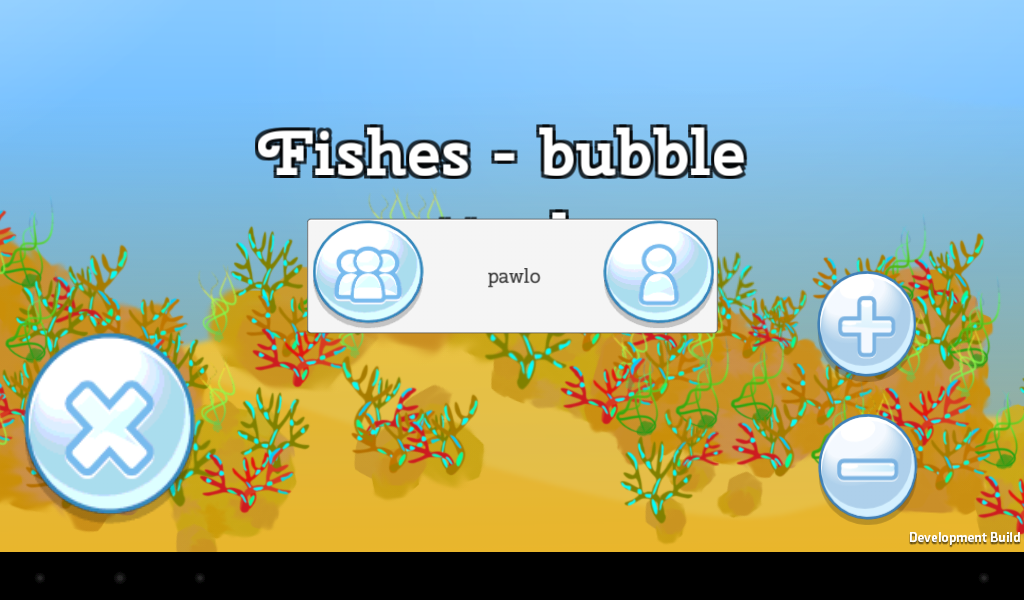 Fishes - bubble attack- screenshot
