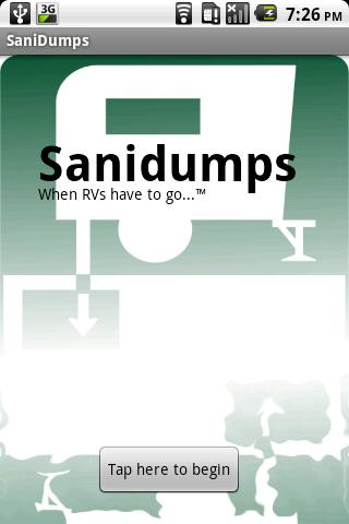 Sanidumps RV Dump Station Lite- screenshot