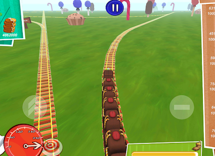 Candy World Train Adventure 3D - screenshot thumbnail