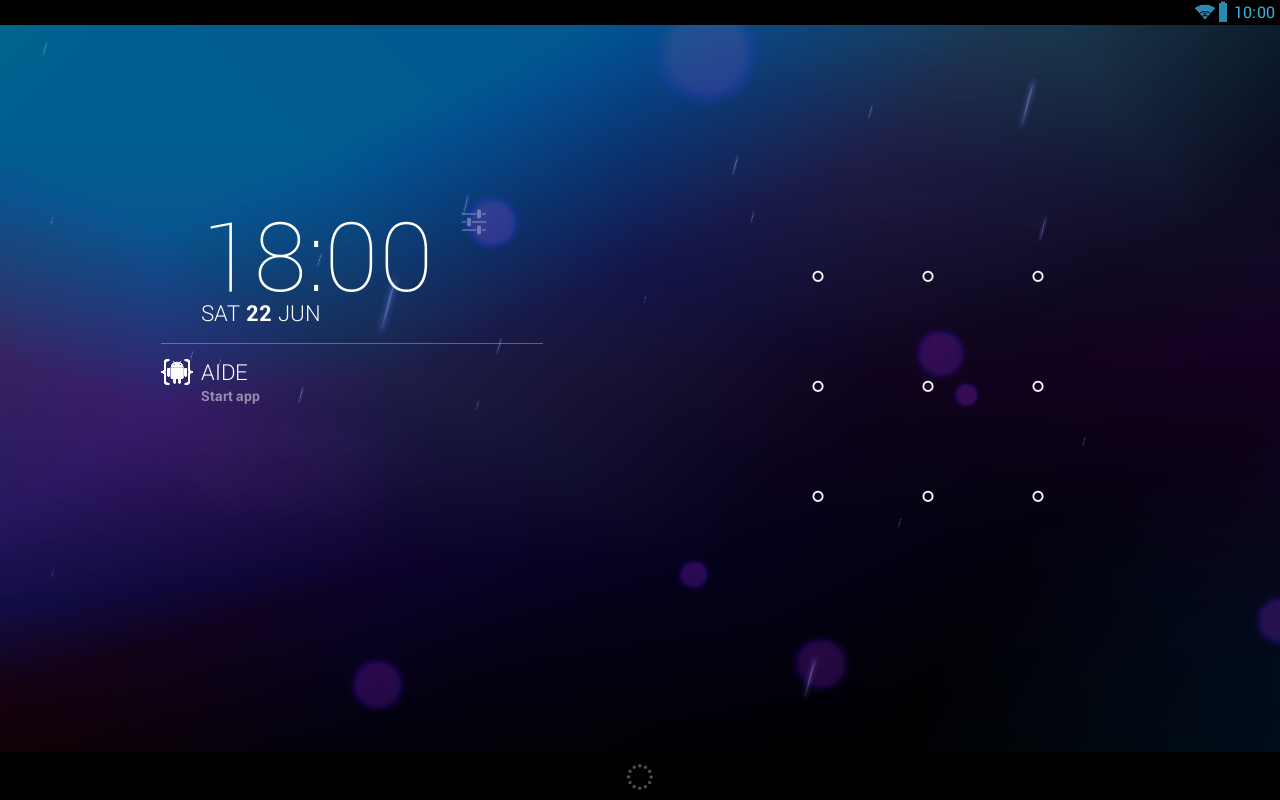 DashClock custom extension- screenshot