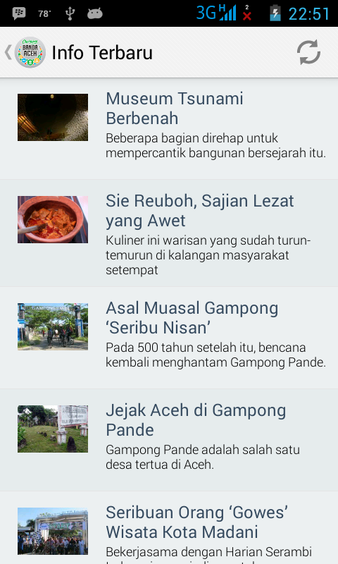 Banda Aceh Tourism- screenshot