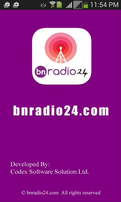 bnradio24- screenshot
