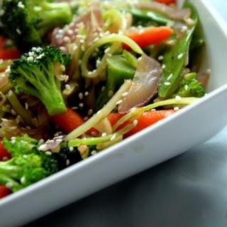 Easy Veggie Stir-Fry.