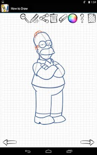 Game Drawing Simpsons Family APK for Windows Phone