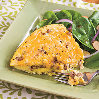 Sausage-and-Cheese Frittata
