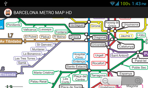 Barcelona metro map hd free android app market for Window 3 nmat