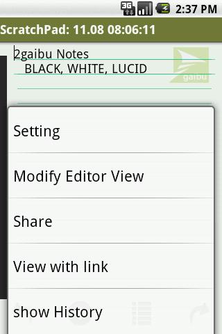 2gaibu ScratchPad 1.4.2 Windows u7528 6