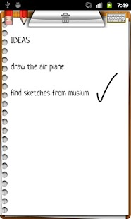 NoteMaster NotePad + draw pad - screenshot thumbnail
