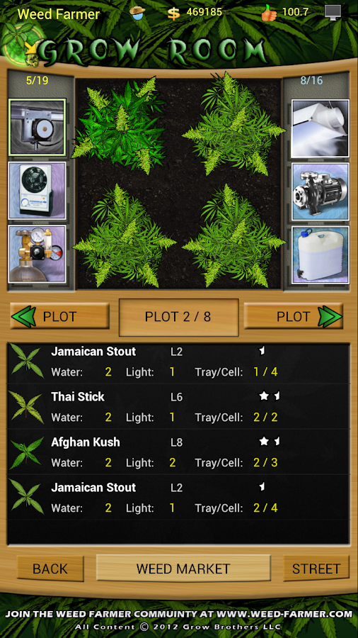 Weed Farmer Freemium- screenshot