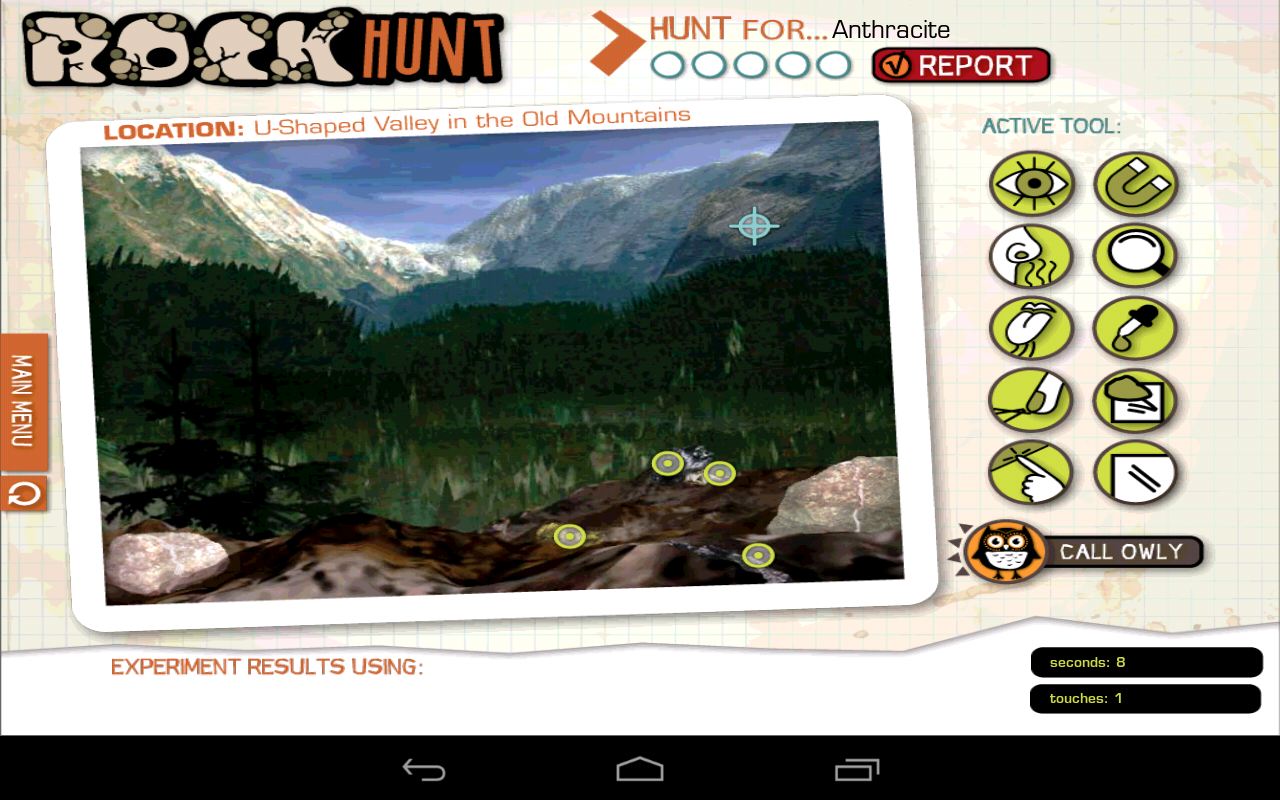 Rock Hunt- screenshot