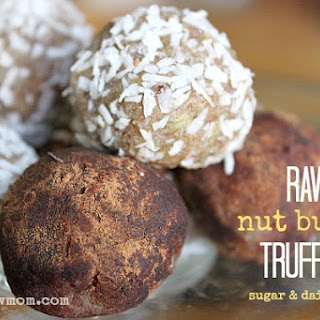 Nut or Seed Butter Truffles (sugar-free)