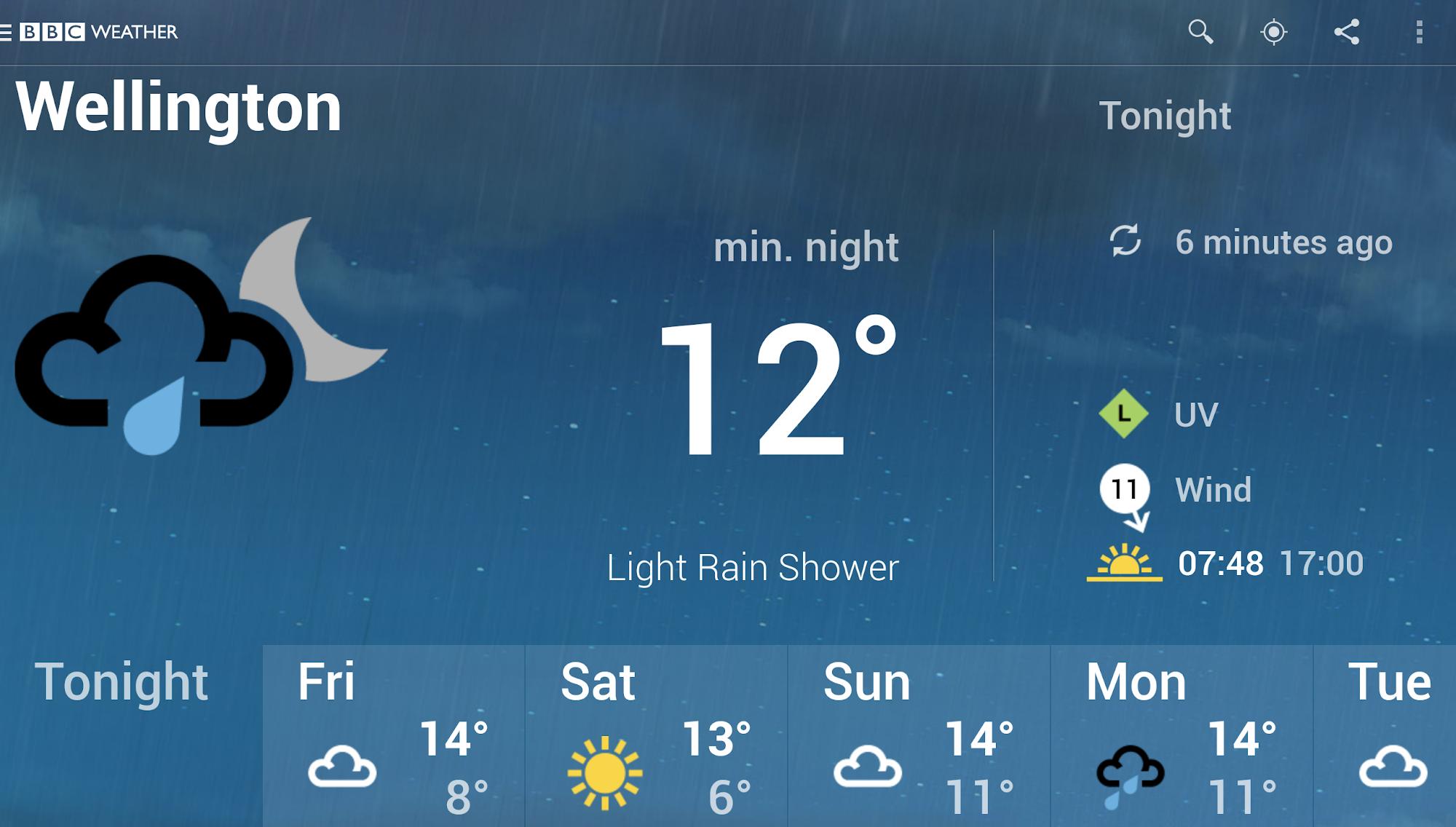 BBC Weather screenshot #10