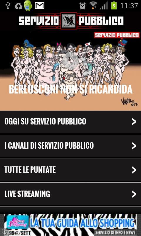 Servizio Pubblico - screenshot
