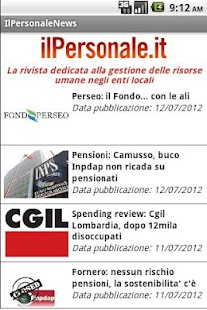 IlPersonale News- screenshot thumbnail