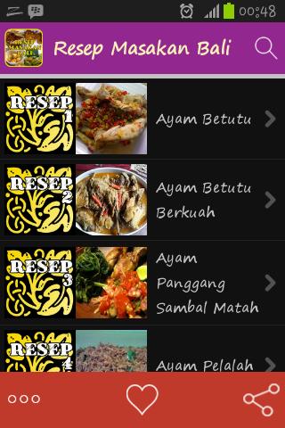 Resep Masakan Bali