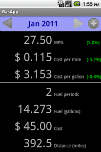 Fuel Tracker- screenshot thumbnail