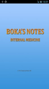 Boka's Notes Internal Medicine- screenshot thumbnail