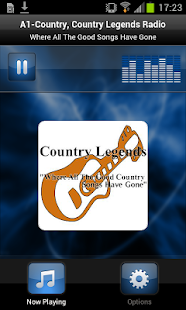 Country Legends Radio - screenshot thumbnail