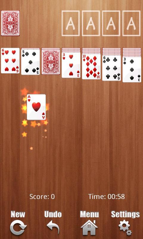 Solitaire Deluxe - screenshot