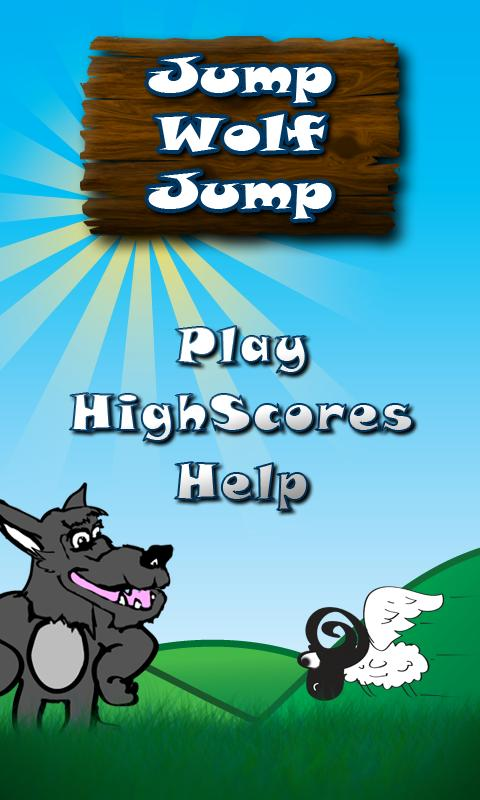Jump Wolf Jump Beta- screenshot