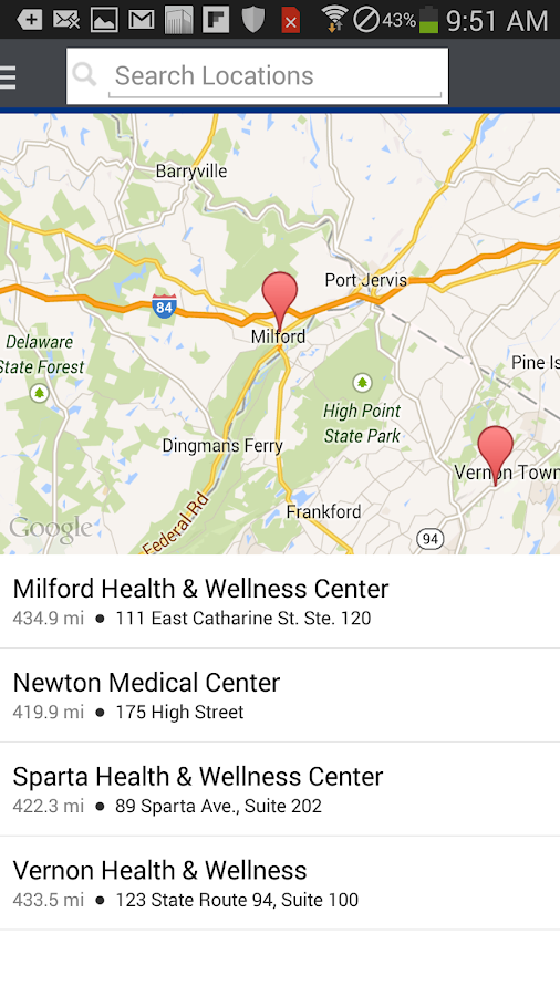 Be Well -Newton Medical Center - screenshot