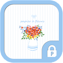 Flower paper protector theme icon