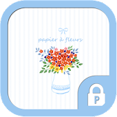 Flower paper protector theme