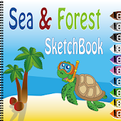 Coloring Book (Sea / Forest)