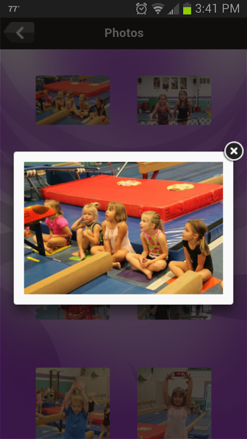 Barron Gymnastics- screenshot