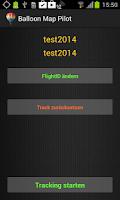 Screenshot of BalloonMap Pilot