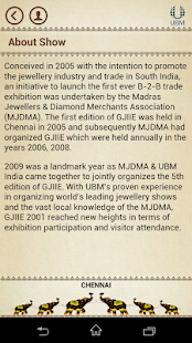 UBM India Jewellery Fairs- screenshot thumbnail