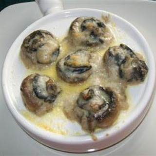 Garlic Cream Escargot Recipes.