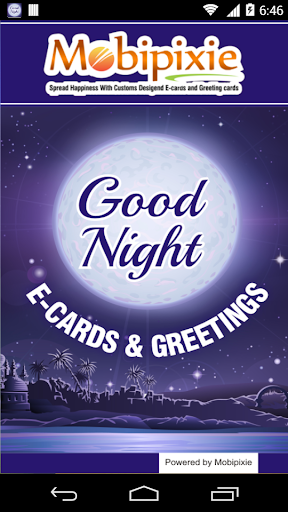Good Night eCards Greetings