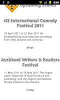 Screenshot of Wellington Travel Guide