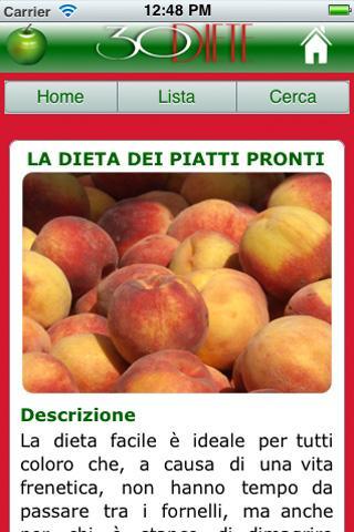 Trenta Diete per tutti- screenshot