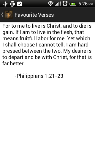 Daily Bible Verses Free - screenshot