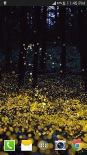 叢林螢火蟲動態桌布